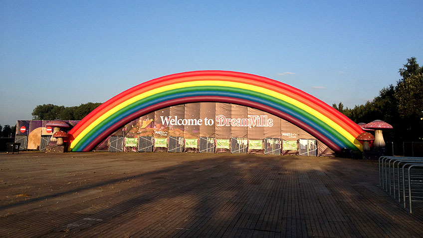 poort Dreamville Tommorowland